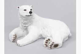 Liggande isbjörn