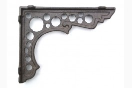 Hyllkonsol gjutjärn 20x16 cm, 1 par