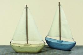 Träbåtar, 2 st/set