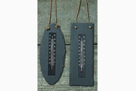 Termometer i skiffer, 2 st/set