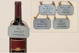 Presentskylt vin, 4 st/set