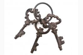 Nyckelknippa, gjutjärn