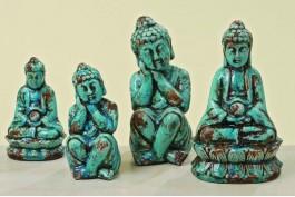 Buddha, 2 st/set (de stora)