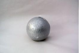 Klotljus Liva silver Ø9