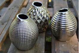 Vas silver, 3 st/set