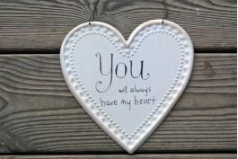 Plåthjärta, You will allways have my heart