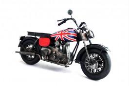 Motorcykel Union Jack