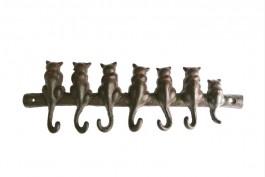 Hängare katter, gjutjärn