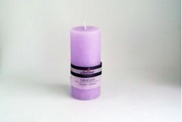 Blockljus lavendel Ø6,8 h15