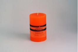 Blockljus orange Ø6,8 h10