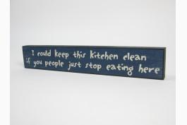 Trätavla kitchen