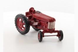 Traktor bemålad, gjutjärn