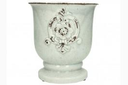 Keramikkruka på fot