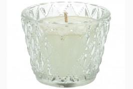 Doftljus i glasbehållare, vanilj
