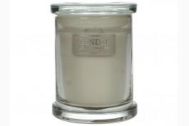Doftljus i glasbehållare, citrongräs